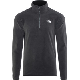 The North Face M's 100 Glacier 1/4 Zip TNF Black